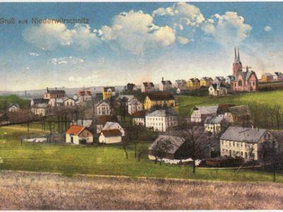 Gemeinde Niederwürschnitz - Geschichte